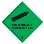 Fareseddel 2.2-Non-Flammable Compressed Gas